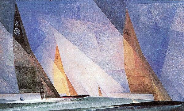 Парусные лодки. Лайонел Фейнингер.jpg