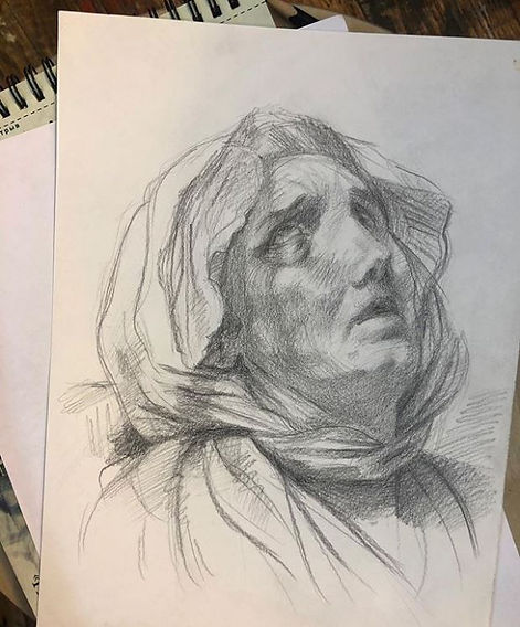 академический рисунок онлайн