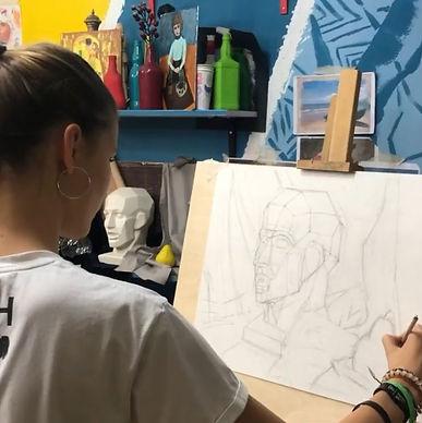 рисование в Строгино