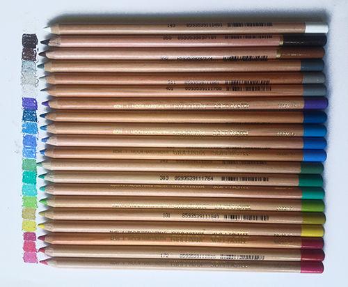Пастельные карандаши поштучно