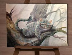Иллюстрация. Кот из Алисы