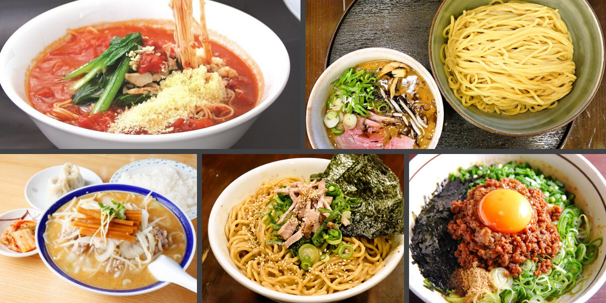 Every single kind of ramen