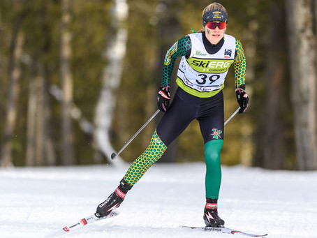 Freed and Wolter tame Rumford's wild weather to earn Nordic Skier of the Week honors