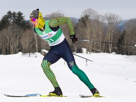 Harmeyer and Laukli earn Colby Carnival Nordic Skier of the Week honors