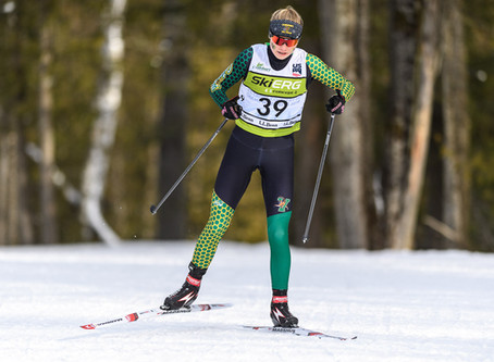 UVM's Freed and Middlebury's Wolter repeat as nordic Skiers of the Week at EISA Champs