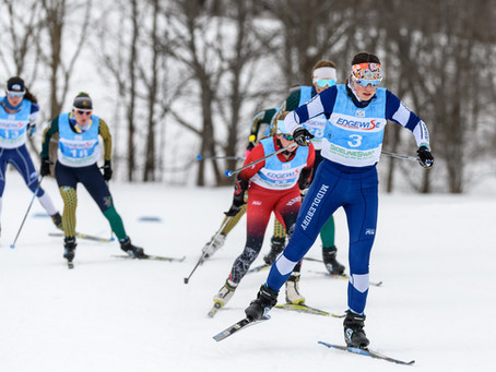 UVM Men and Middlebury Women dominate first day of Harvard Carnival nordic races