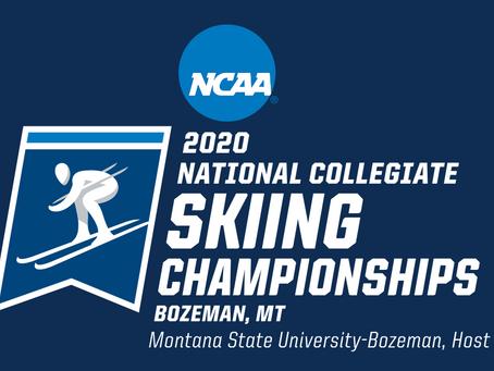 NCAA Championship Nordic Schedule