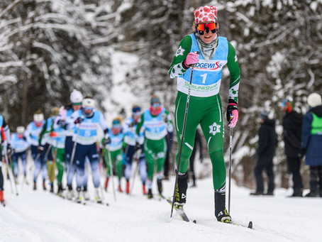 Ogden and Øvrum are Harvard Carnival Skiers of the Week