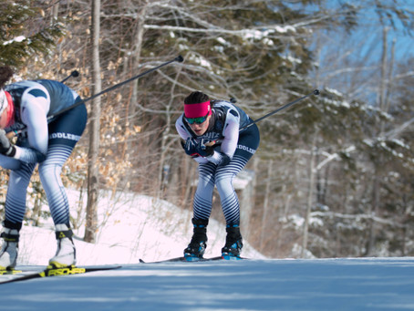 Black Mountain turns Green as Vermonters dominate Day 2 of Bates nordic races
