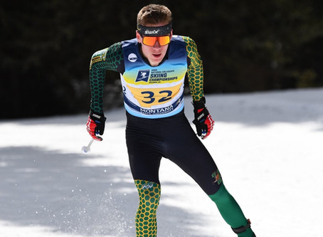 Ogden leads UVM to victory, Middlebury women strike gold on first and last day of nordic NCAAs