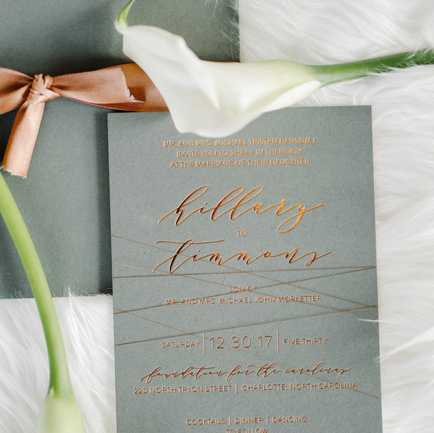 Hillary + Timmons Invite You