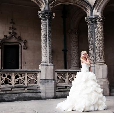 Gorgeous Bride at Biltmore Estate