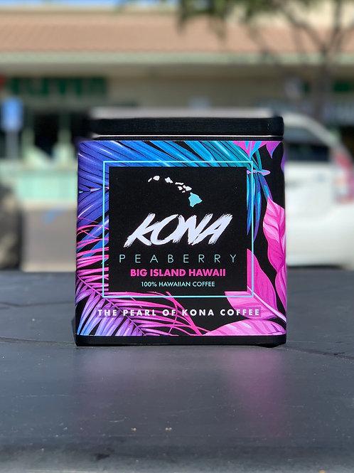 100% Hawaiian Kona Peaberry Single Origin Coffee