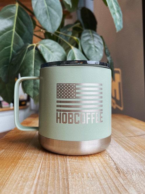 15oz HOB USA Camping Mug