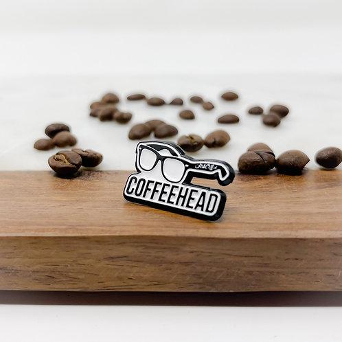 Coffeehead Pin