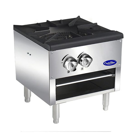 Single Burner Stock Pot Range Low-Profile - ATSP-18-1L