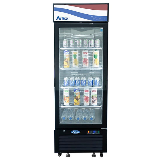 1-Door Glass Door Merchandiser Refrigerator - MCF8722GR