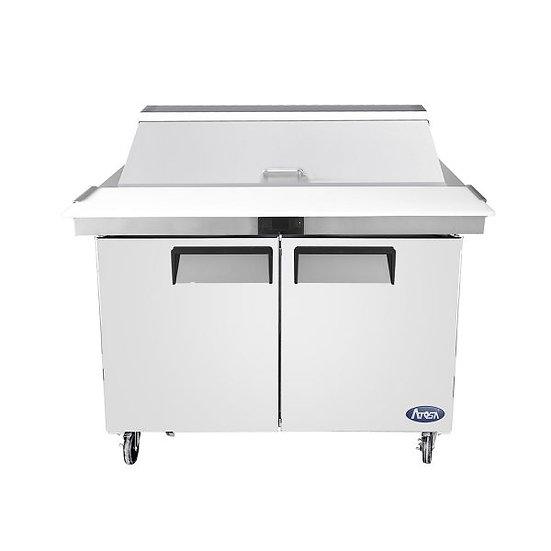 "2-Door Mega-Top Prep Table 48"" - MSF8306GR"