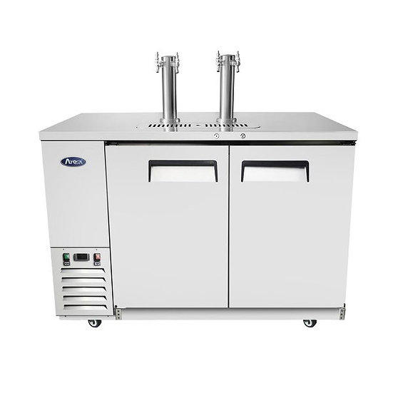 """2-Keg Draft Cooler Refrigerator 58"""" - MKC58GR"""
