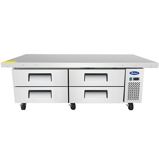 """4-Drawer Refrigerated Chef Base 76"""" - MGF8454GR"""