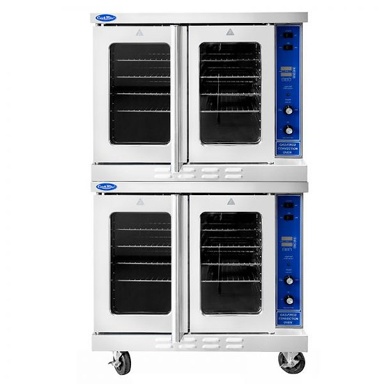 Double Deck Nat Gas S/S Convection Oven - ATCO-513B-2