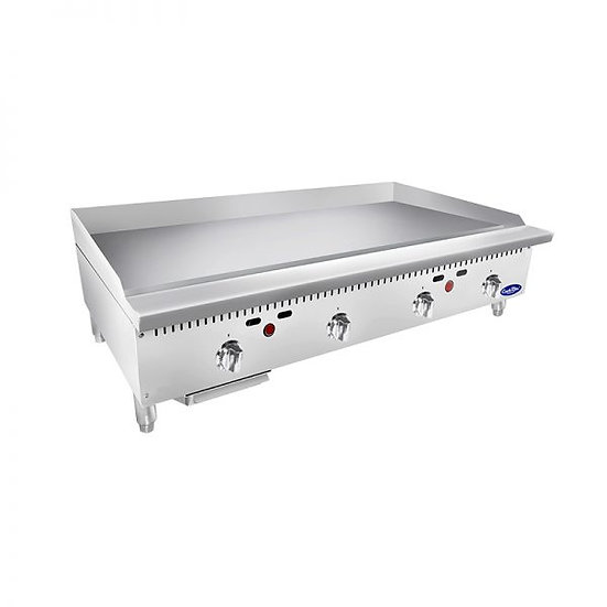"""48"""" Countertop Thermostat Control Griddle - ATTG-48"""