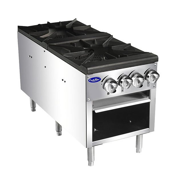 Double Burner Stock Pot Range - ATSP-18-2