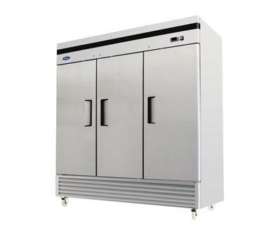 3-Door Reach-In Refrigerator - Bottom Mount MBF8508GR