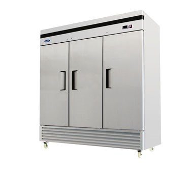 3-Door Reach-In Freezer - Bottom Mount MBF8504GR