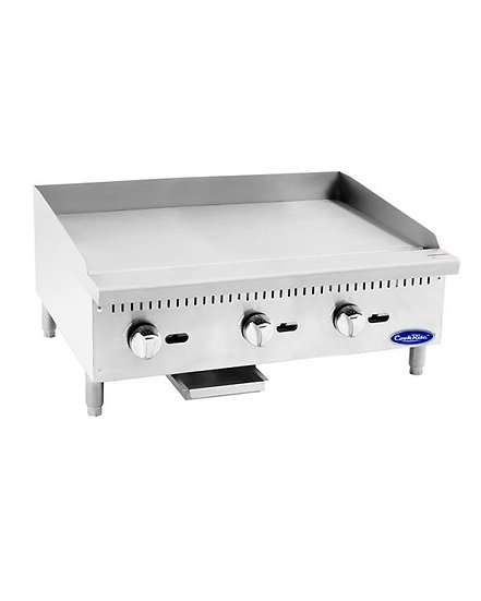 "36"" Countertop Manual Control Griddle - ATMG-36"