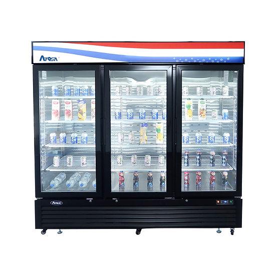 3-Door Glass Door Merchandiser Refrigerator - MCF8724GR