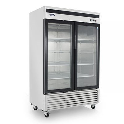 2-Door Glass Door Merchandiser Freezer - MCF8703GR