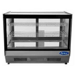 """Straight Glass Countertop Deli Refrigerator 28"""" - CRDS-42"""