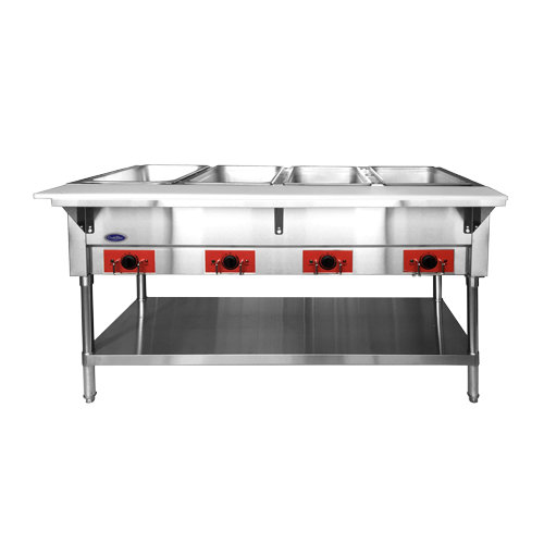 "4-Well Electric Steamtable 58"" - CSTEA-4C"