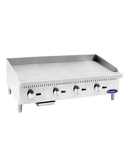 "48"" Countertop Manual Control Griddle - ATMG-48"