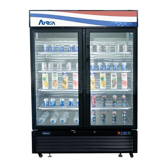 2-Door Glass Door Merchandiser Refrigerator - MCF8723GR