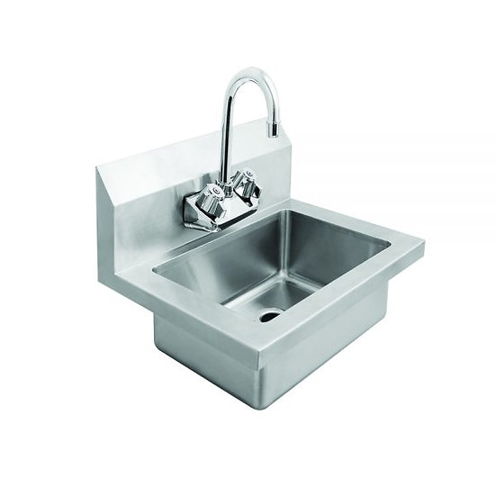"Stainless Steel Wall-Mount Hand Sink 18"" - MRS-HS-18"