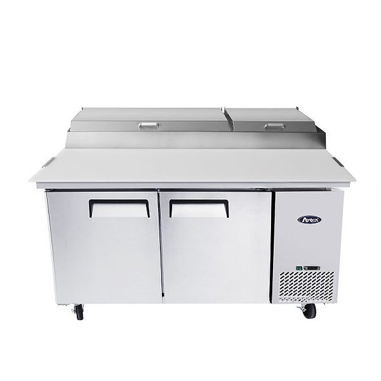 "2-Door Pizza Prep Table 67"" - MPF8202GR"