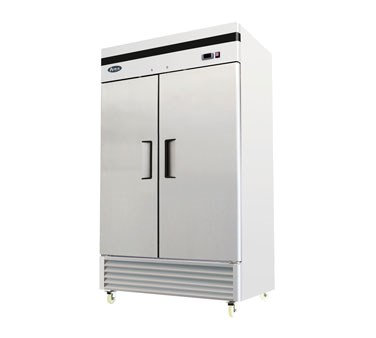 2-Door Reach-In Refrigerator - Bottom Mount MBF8507GR