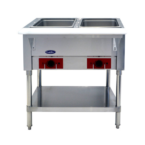 """2-Well Electric Steamtable 30"""" - CSTEA-2C"""