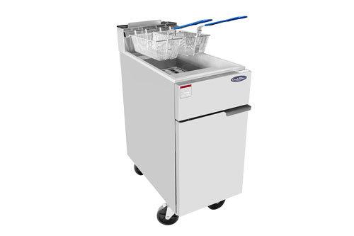 50 lb Deep Fryer S/S 136,000 BTU - ATFS-50