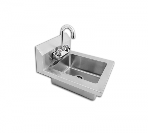 "Stainless Steel Wall-Mount Hand Sink 14"" - MRS-HS-14"
