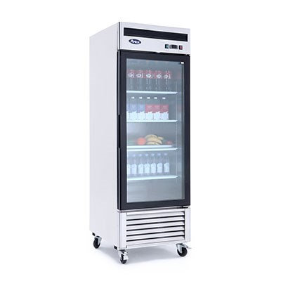 1-Door Glass Door Merchandiser Freezer - MCF8701GR