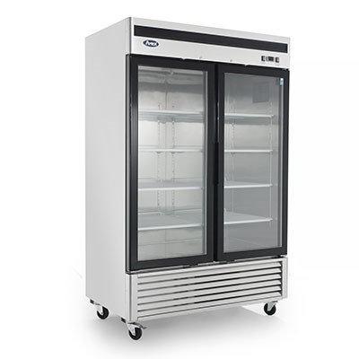 2-Door Glass Door Merchandiser Refrigerator - MCF8707GR