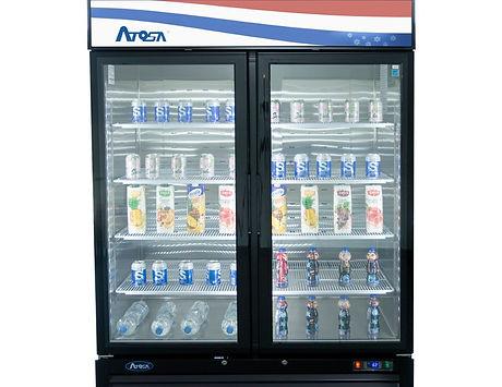 2-Door Glass Refrigerator Merchandiser MCF8723GR