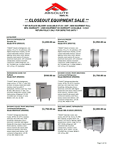 Absolute Closeout Equipment Sale 121620.