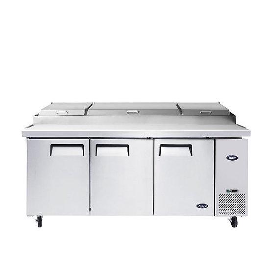 """3-Door Pizza Prep Table 93"""" - MPF8203GR"""