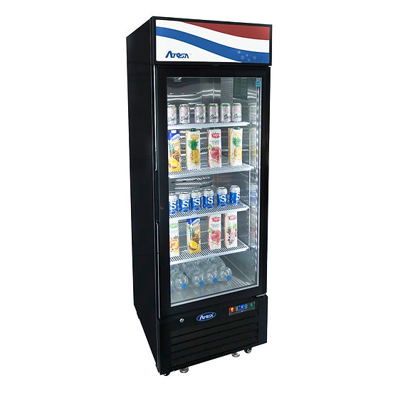 1-Door Glass Door Merchandiser Refrigerator - MCF8725GR