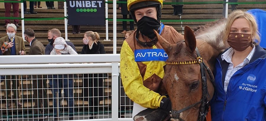 Stable News - 2nd for The Mighty Don at Cheltenham