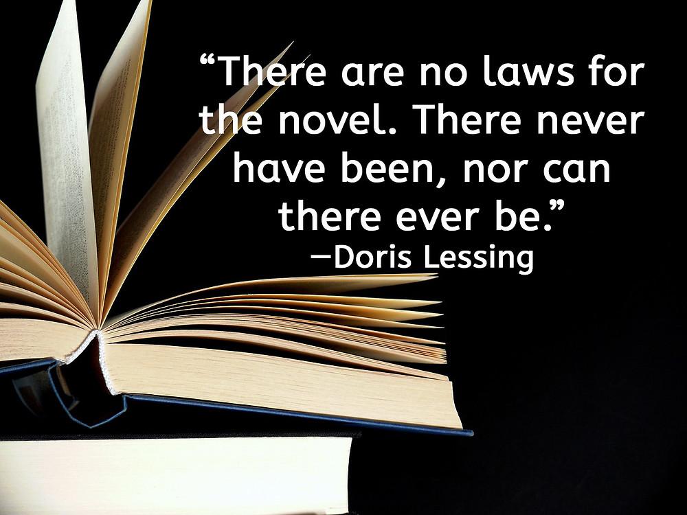 Author quotes for writers - Doris Lessing quote